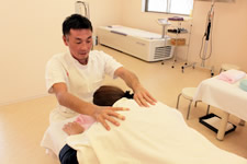 肩関節の施術