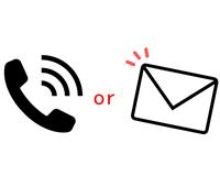 お電話orメール